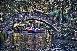 HDR City Scapes of the San Antonio Riverwalk